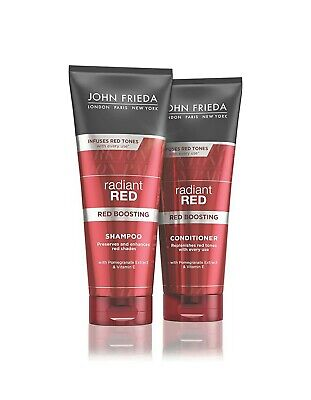 JOHN FRIEDA  Radiant Red SHAMPOO  & CONDITIONER | 250ml |