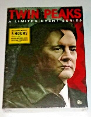 New  Twin Peaks  A Limited Event Series  2017   8 Disc Dvd Box Set  Ships Free