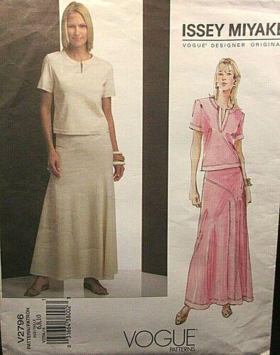 Vogue Designer Original 2796 Miyake Size- 6-8-10