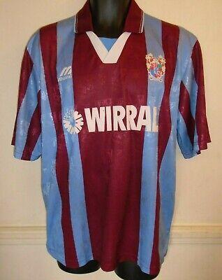 RARE Tranmere Rovers Away Football Shirt 1996-1998 large men's 42