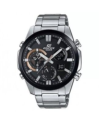 Casio Edifice Chronograph 100m World time Analog & Digital Watch ERA500DB-1A comprar usado  Enviando para Brazil