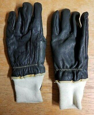 Shelby Firefighting Black Gloves Size Jumbo