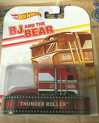 HOT WHEELS RETRO ENTERTAINMENT BJ AND THE BEAR THUNDER ROLLER REAL RIDERS MINT!!