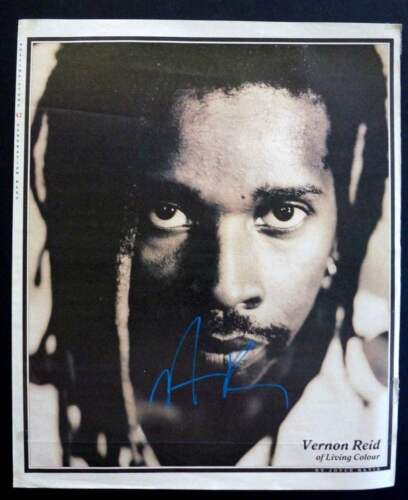 Vernon Reid Autographs For Sale by RACC Trusted Sellers