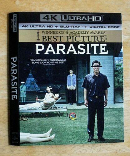 PARASITE, PREDATOR, PURGE, PACIFIC RIM, PUSH, PET SEMATARY 4K Blu ray slipcover