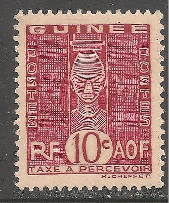 French Guinea #J27 (D4) VF MINT - 1938 10c African Head / Postage Due