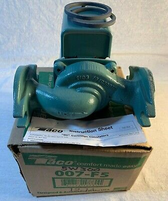 Taco Pump 007- F5 Boiler Hydronic Circulating Pump New Old Stock Two Gaskets