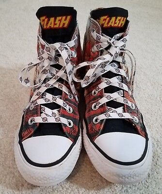"Converse All-Star DC Comics ""The Flash"" - size 4 US mens/ 6 US womens](Converse All Star Cheap)"