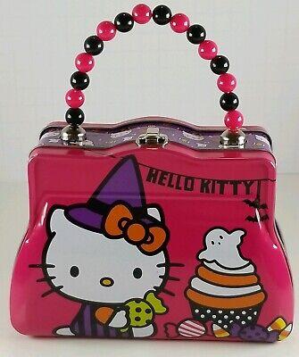 Hello Cupcake Halloween (1 Hello Kitty w/Cupcake & Candy Mini Halloween Tin Lunch Box Size:)