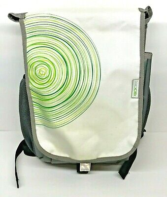 Xbox 360 Travel Back Pack Carrying Padded Bag Official Microsoft Backpack Case, used for sale  Shipping to India