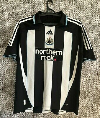 Newcastle United FC Adidas 2007 FOOTBALL SHIRT SOCCER JERSEY NUFC MENS SIZE L  image