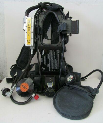 Scott 4.5 Air-Pak Plus CBRN Regulator Integrated PASS SCBA Harness