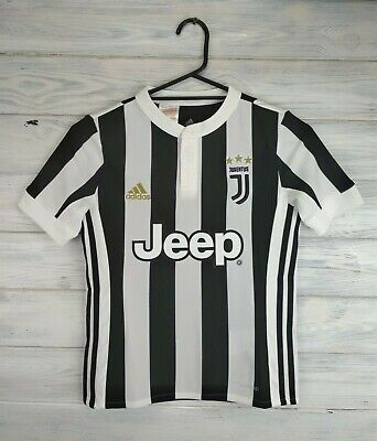 5051ec318 Juventus jersey kids 9-10 years 2018 home shirt AZ8703 soccer football  Adidas