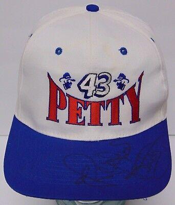 Vintage 1990s RICHARD PETTY Signed Autographed Nascar Snapback Hat Cap COA  CASE 598d9349b406