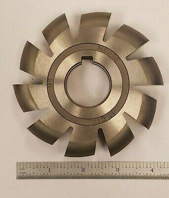 Morse 4-12 X 1 Straight 10 Teeth Hss Convex Shell End Mill 8b-b0159