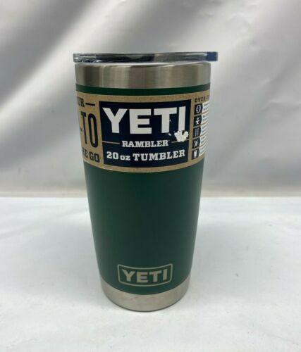 YETI Rambler 20 oz Tumbler, Stainless Steel, Vacuum Insulated w/ MagSlider Lid