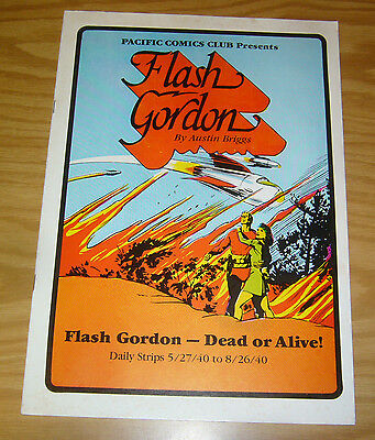 Pacific Comics Club: Flash Gordon #1 VF dead or alive - daily strips - 1981