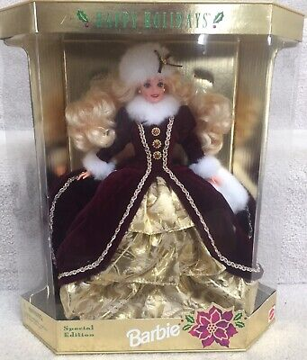 Mattel 15646 Barbie Happy Holidays 1996 Special Edition (New in Box)
