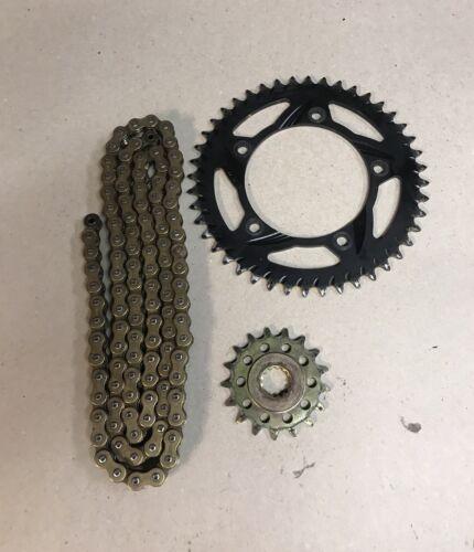 03 - 08 Suzuki GSXR1000 GSXR 1000 Vortex Sprocket Kit Chain 17/44 T #0151