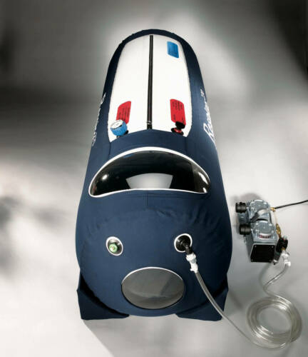 Hyperbaric chamber Respiro270 includes everything (all extras)