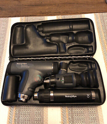 Welch Allyn Panoptic Ophthalmoscope Macroview Otoscope Diagnostic Set 97800-ms