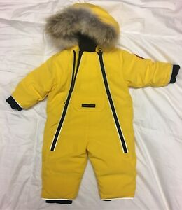 Canada Goose Baby Lamb Snowsuits 6-12 Months