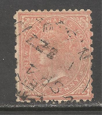 New South Wales #61b (A17) VF USED - 1882 1p Queen Victoria