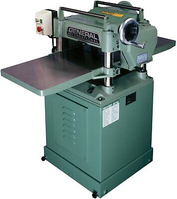 General International 30-125hcm1 3 Hp 15-inch Planer With Helical Cutterhead