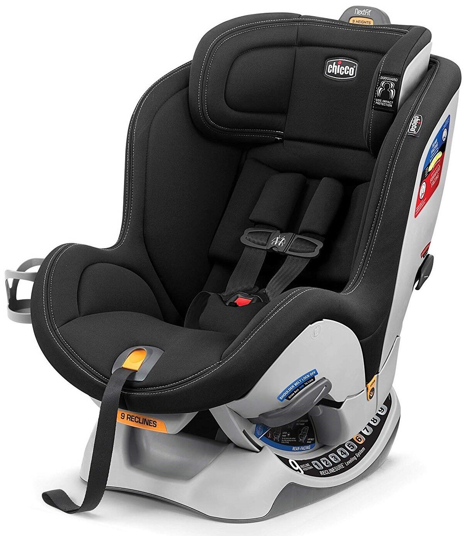 Chicco NextFit Sport Convertible Car Seat, Black