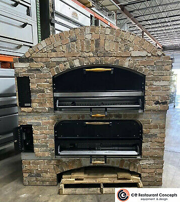 Used Marsal Mb-60 Stacked Gas Deck-type Pizza Bake Oven