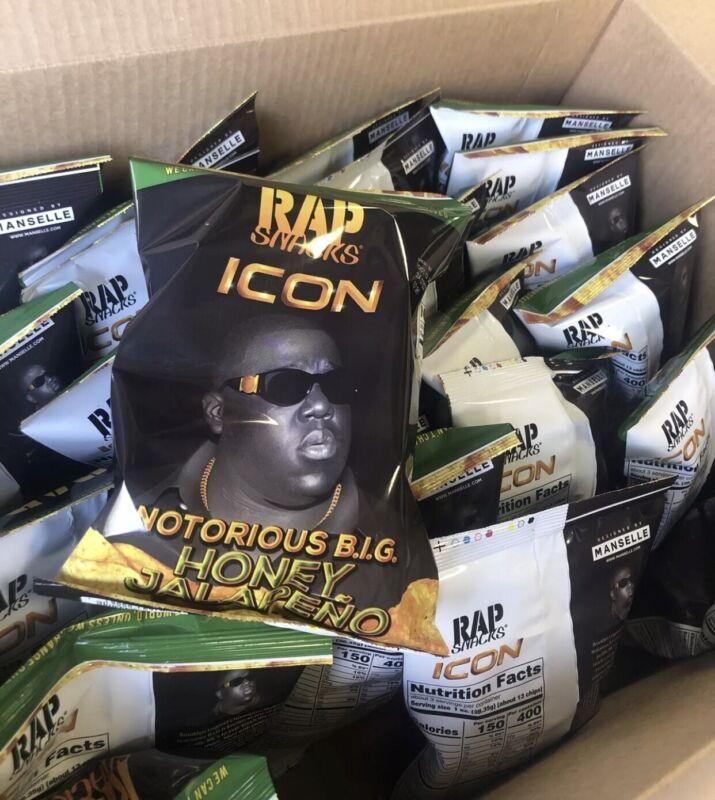 Rap Snacks Icon Notorious B.I.G Honey Jalapeno (10 pack)