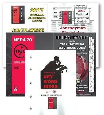 NEC Code & Fast Tabs, Calculations, Journeyman, Keyword by Tom, Paperback 2017