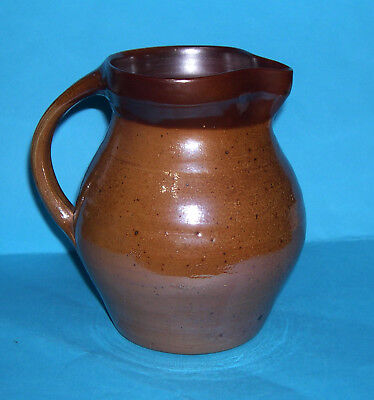 Caoldair Studio Pottery Inverness Scotland - Well Proportioned Duo Glaze Jug.