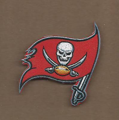 New 3 1 4 Inch Tampa Bay Buccaneers Iron On Patch Free Shipping