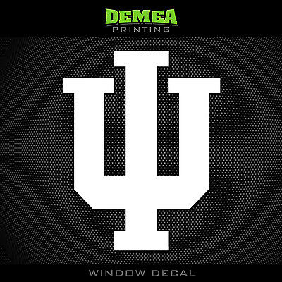 Indiana - Hoosiers - IU - NCAA - Vinyl Sticker/Decal 5