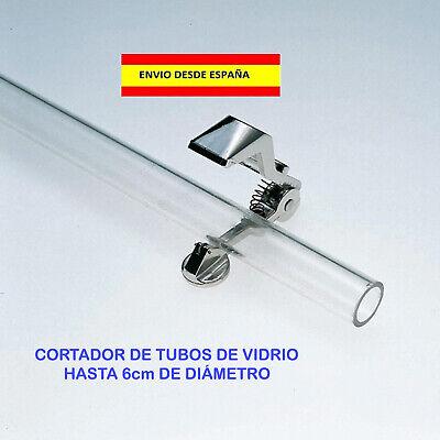 CORTA TUBOS DE CRISTAL LABORATORIO ANAL�TICA BRICOLAJE MANUALIDADES 6cm DIAMETRO