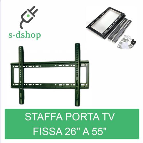 SUPPORTO STAFFA PARETE TV LCD PLASMA DA 26