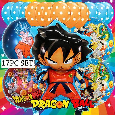 TOY DRAGON BALL Z SUPER Party Birthday Anime Cartoon Balloon DRAGONBALL GOKU
