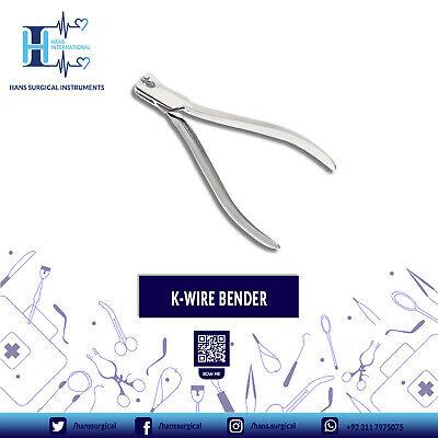 Kirschner Wire Bender German Stainless Steel Orthopedic Instruments
