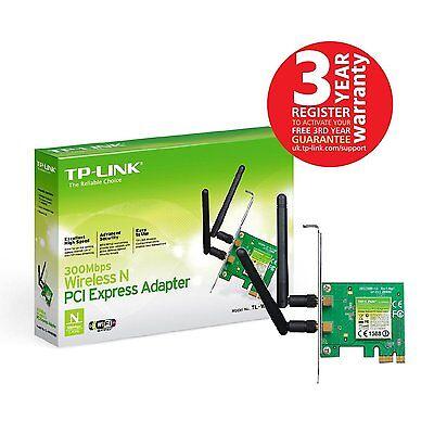 SCHEDA DI RETE INTERNA WIRELESS TP-LINK PCI-E TL-WN881ND 300MBPS