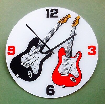 Stratocaster Guitar Wall Clock