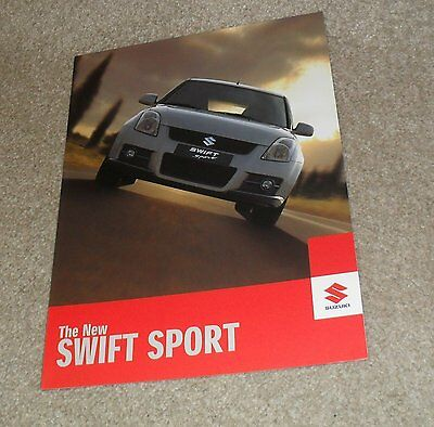 Suzuki Swift Sport 1.6 VVT Brochure 2006-2007 - UK Market