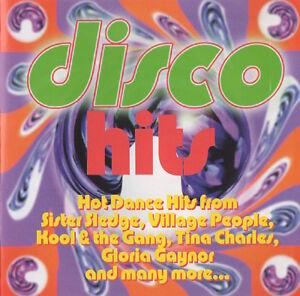 DISCO HITS - TINA CHARLES / I AM WHAT I AM (LA CAGE) / KELLY MARIE ETC.- CD