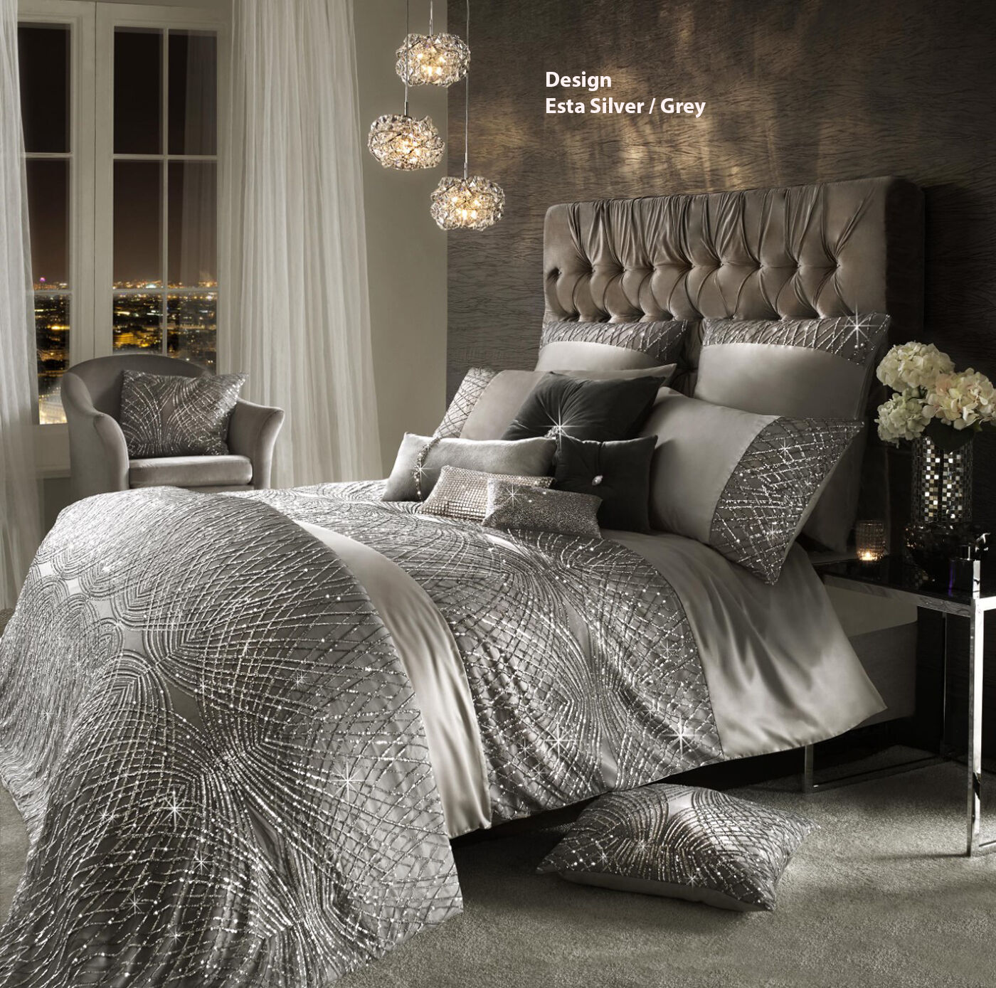 bed piece online luxurious amherst living comforters products designer comforter set sets bedding