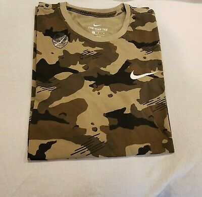 Men's Nike Camo  T-Shirt Tee Size Large-XL