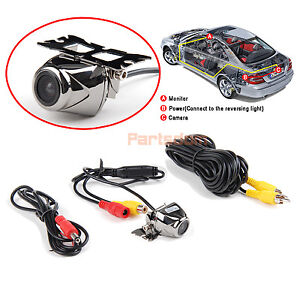New Waterproof Rotatable Color CMOS CCD Car Rear View Camera with Night Vision