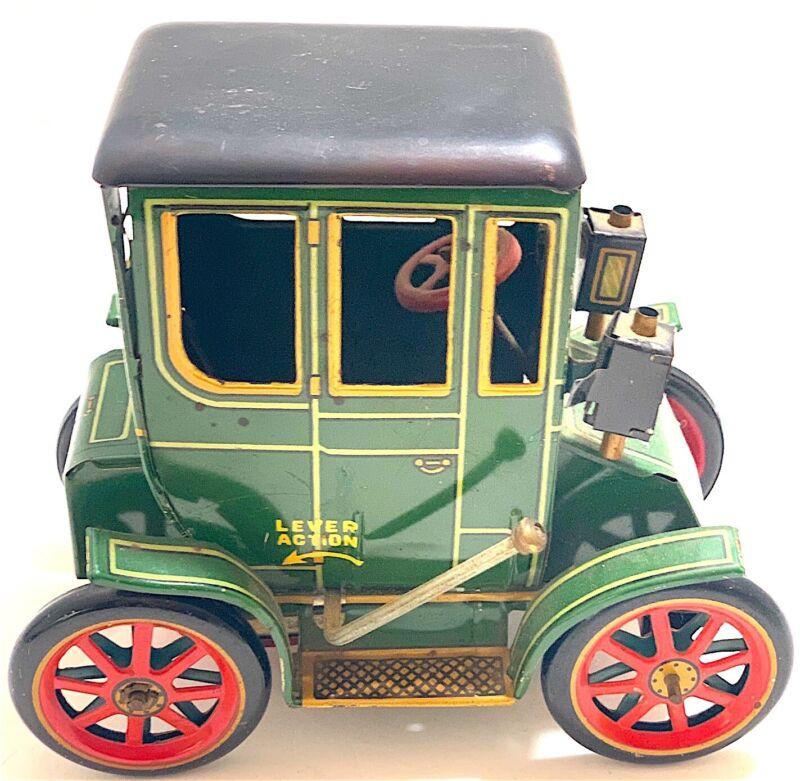 Vintage Modern Toys Lever Action Toy Car Japan Pat No ...