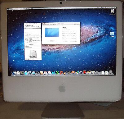 Apple A1207 20'' Intel Core 2 Duo 2.16GHz 2GB RAM 250GB iMac MA589LL OS 10.7.5