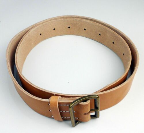 WW2 Japanese Army Type 38 Military Field Combat Belt Leather Copper Buckle
