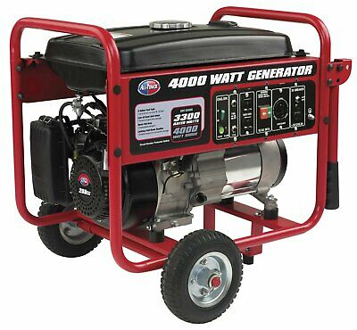 All Power 4000 Watt Portable Generator Gas Powered W Electric Start Epacarb